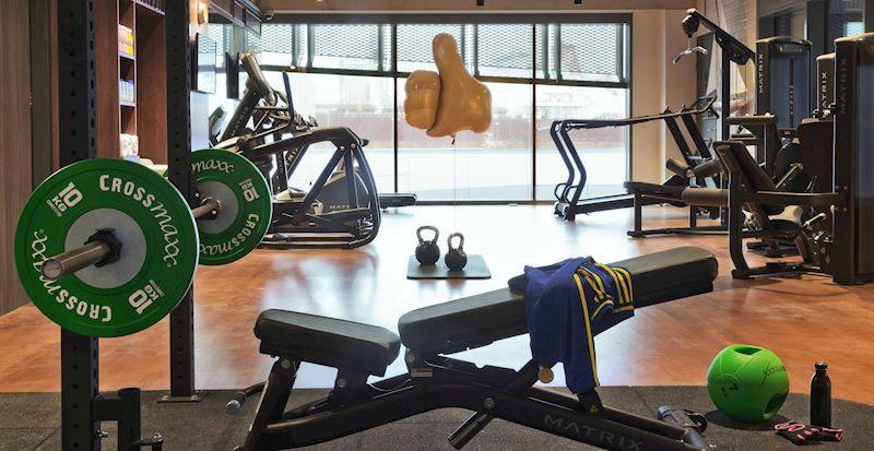 Retro Gym in The Athletic Club