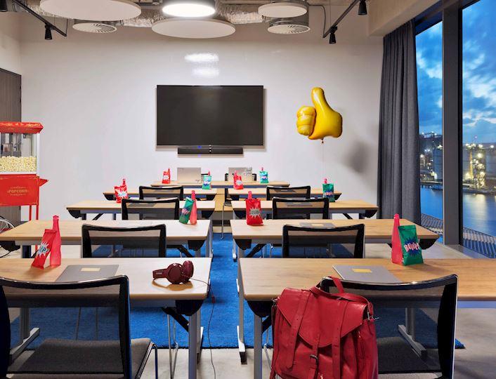 Moxy meeting room - Prepare